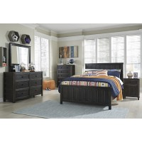 Jaysom Dresser, Mirror & Full Panel Bed