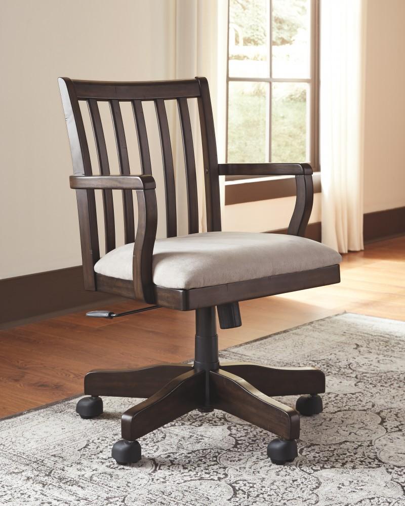 Townser   Grayish Brown   Home Office Swivel Desk Chair | H636 01A | Home Office  Desk Chair | National Mattress U0026 Furniture Warehouse