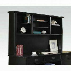 ACME Pandora Office Hutch Cabinet - 92264 - Black