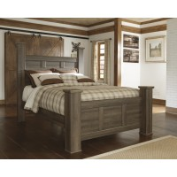 Juararo Cal King Poster Bed