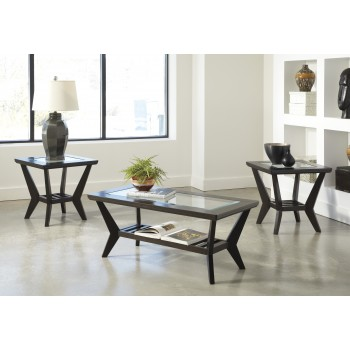 Lanquist - Occasional Table Set (Set of 3)