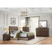 Erwan Low Profile Queen Bedroom Set - Espresso