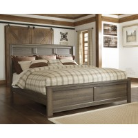 Juararo Cal King Panel Bed