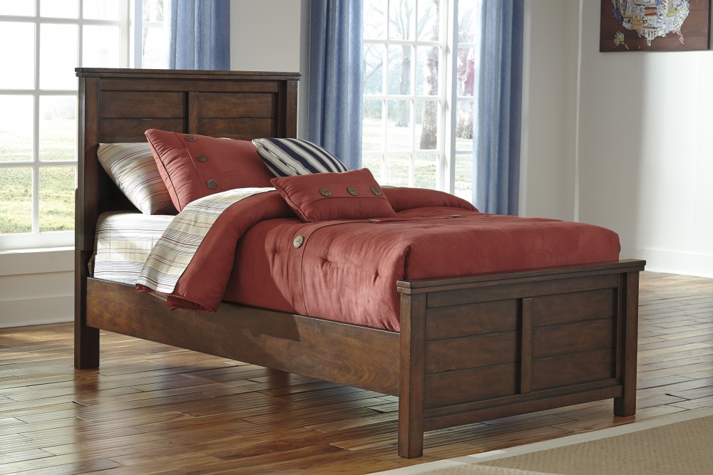 Ladiville Twin Bed (Headboard, Footboard, Rails)
