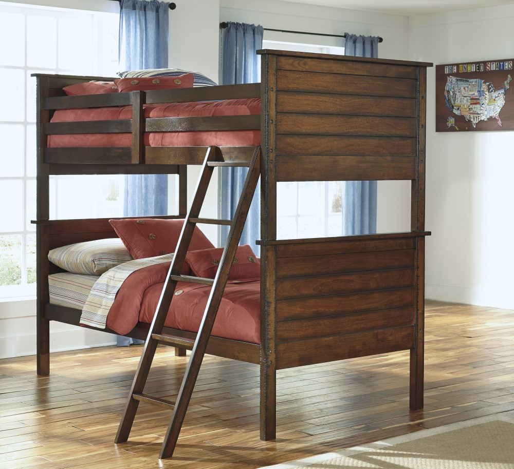 Ladiville Bunk Bed Twin Twin Bunk Beds Factory Direct Furniture
