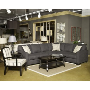 Alenya - Charcoal - Armless Chair