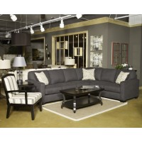 Alenya - Charcoal - RAF Loveseat