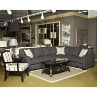 Alenya - Charcoal - LAF Sofa