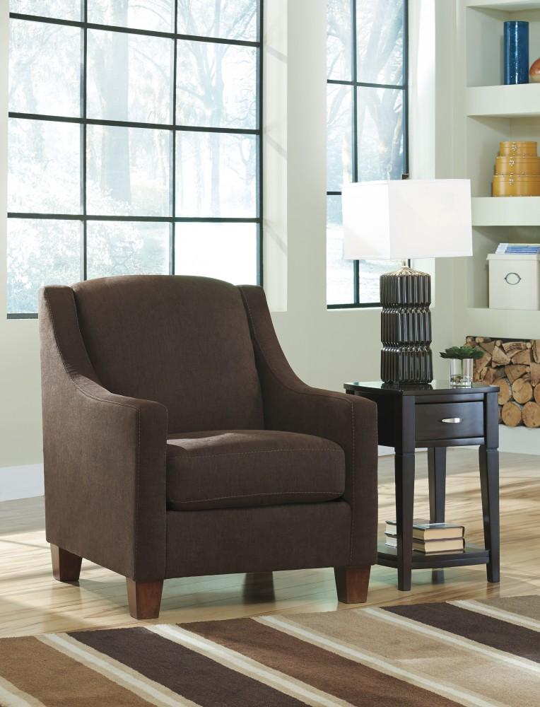 Maier - Walnut - Accent Chair