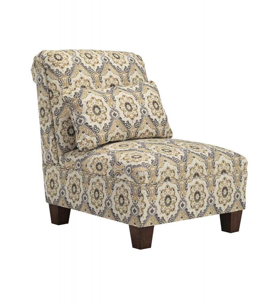 Emelen - Alloy - Armless Chair