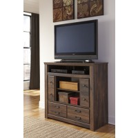 Quinden - Media Chest w/Fireplace Option