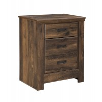 Quinden - Two Drawer Night Stand