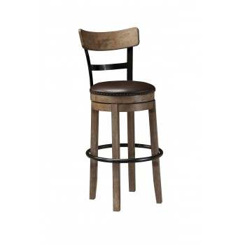Pinnadel - Tall UPH Swivel Barstool(1/CN)