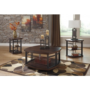 Challiman - Occasional Table Set (Set of 3)