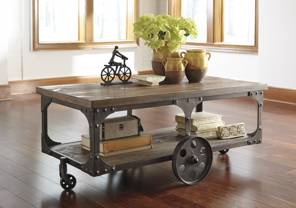 Rustic Accents   Rectangular Cocktail Table