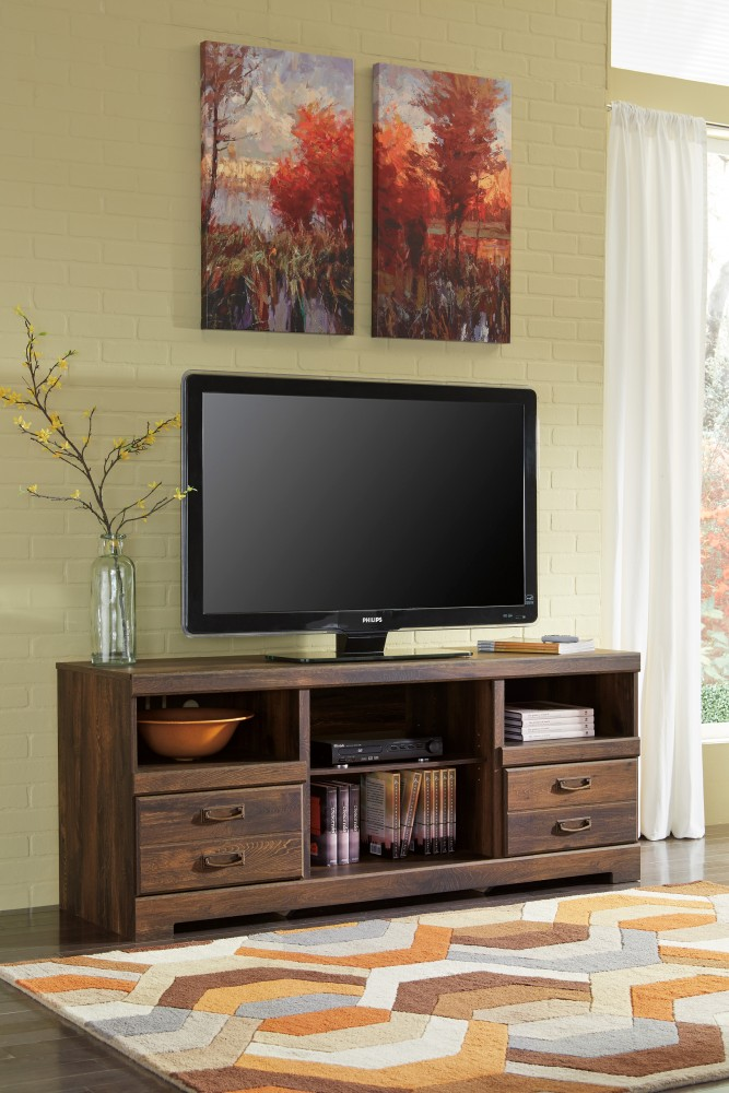 Quinden - LG TV Stand w/Fireplace Option
