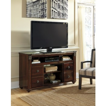 Gabriela - LG TV Stand w/Fireplace Option
