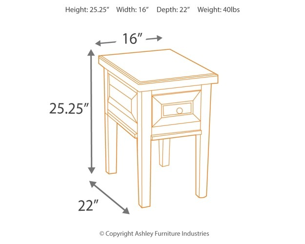 Hindell Park Coffee Table.Hindell Park Chair Side End Table
