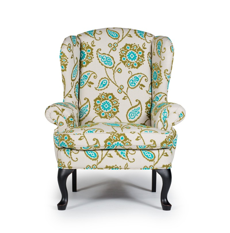 Amazing Sylvia Wing Back Accent Chair Living Room Plantation Bralicious Painted Fabric Chair Ideas Braliciousco