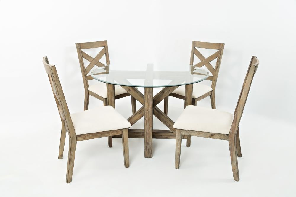 Incredible Hampton Road Round Dining Table With Four X Back Chairs Short Links Chair Design For Home Short Linksinfo