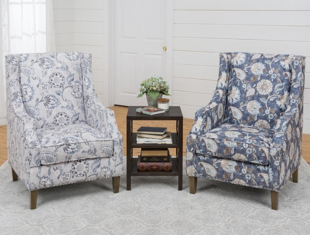 Pleasing Westbrook Accent Chair Blue Westbrookchblue Chairs Squirreltailoven Fun Painted Chair Ideas Images Squirreltailovenorg
