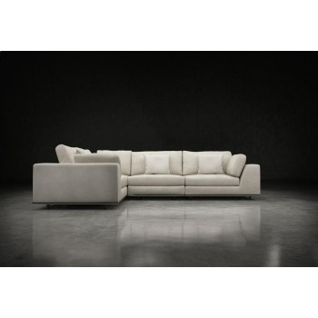 Perry 2 Arm Corner Compact Sofa