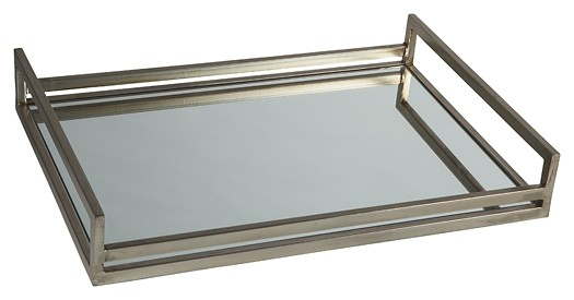 Derex - Silver Finish - Tray
