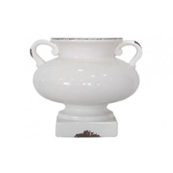 Dierdra - Antique White - Urn