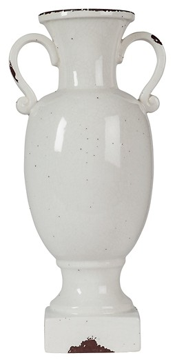 Dierdra - Antique White - Urn