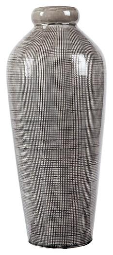 Dilanne Gray Vase A2000279 Vases Sadtks Furniture And Bedding