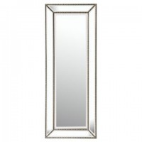 Dhavala - Silver/Black - Accent Mirror