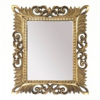 Denisha - Antique Gold Finish - Accent Mirror