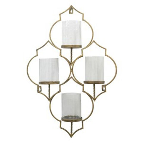 Dunixi - Antique Gold Finish - Wall Sconce