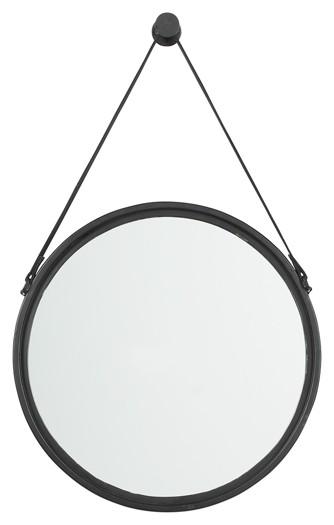 Dusan - Black - Accent Mirror