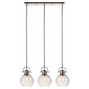 Johano - Gray - Glass Pendant Light (1/CN)