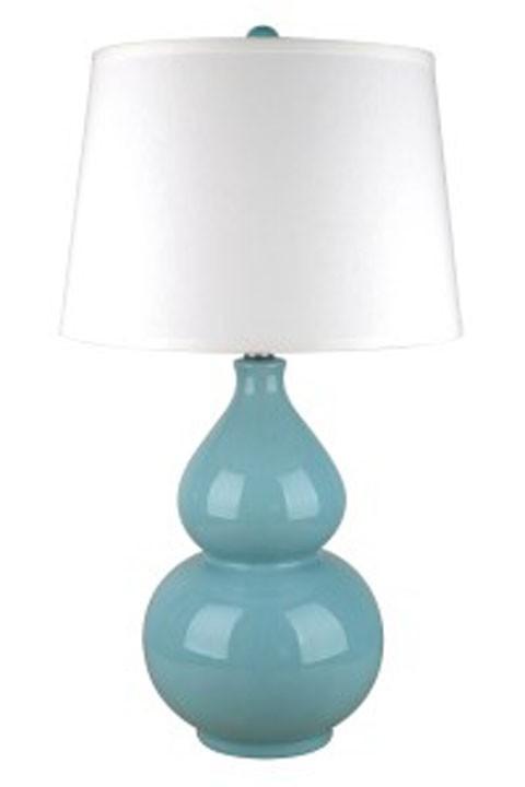 Saffi light blue ceramic table lamp 1cn l100044 lamps saffi light blue ceramic table lamp 1cn aloadofball Choice Image