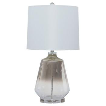 Jaslyn - Silver Finish - Glass Table Lamp (1/CN)