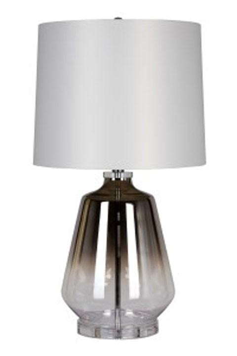 Jaslyn   Silver Finish   Glass Table Lamp (1/CN)