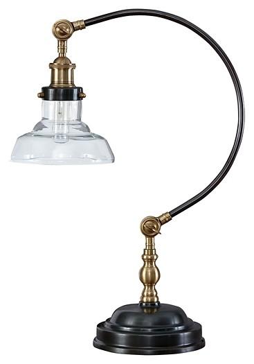 Asahavey - Antique Bronze Finish - Metal Desk Lamp (1/CN) - Asahavey - Antique Bronze Finish - Metal Desk Lamp (1/CN) L734222