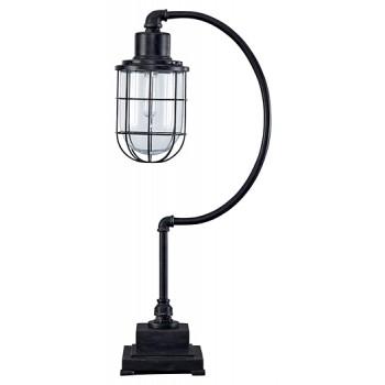 Jae - Antique Black - Metal Desk Lamp (1/CN)