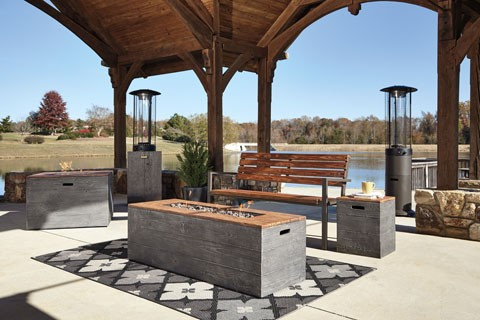 Hatchlands - Multi - Low RECT Fire Pit Table