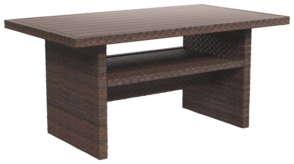 Salceda   Beige/Brown   RECT Multi Use Table