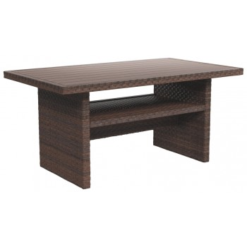 Salceda - Beige/Brown - RECT Multi-Use Table