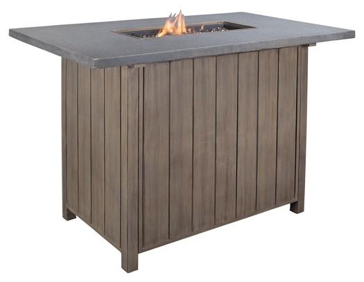 Partanna - Blue/Beige - Bar Table