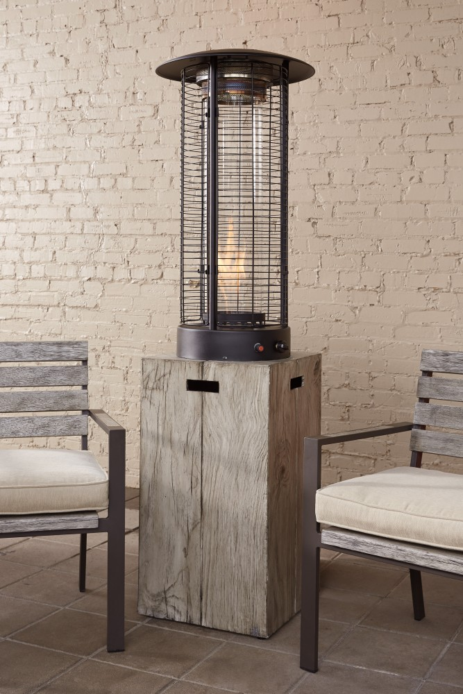 Peachstone   Beige/Brown   Patio Heater