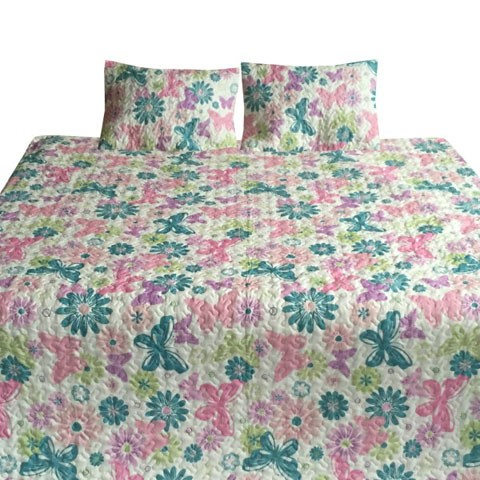 Jobeth - Multi - Twin Quilt Set