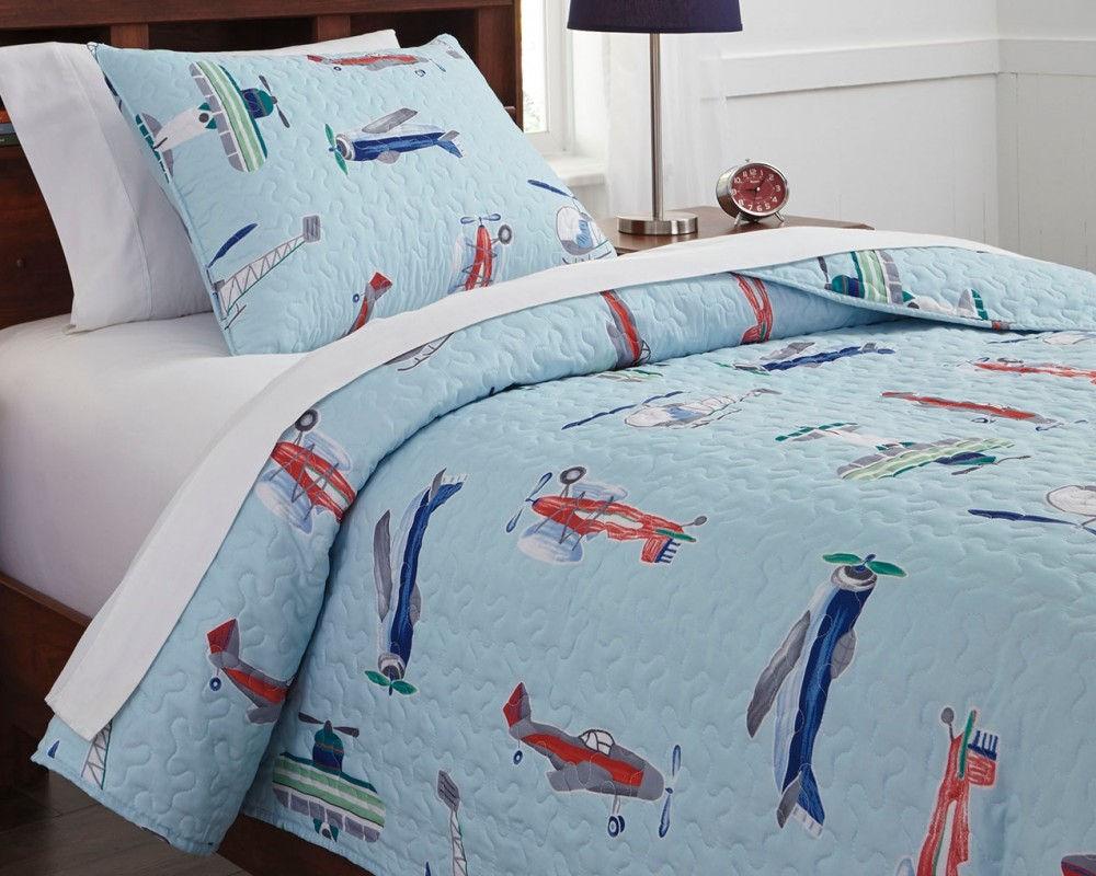 McAllen - Multi - Twin Quilt Set