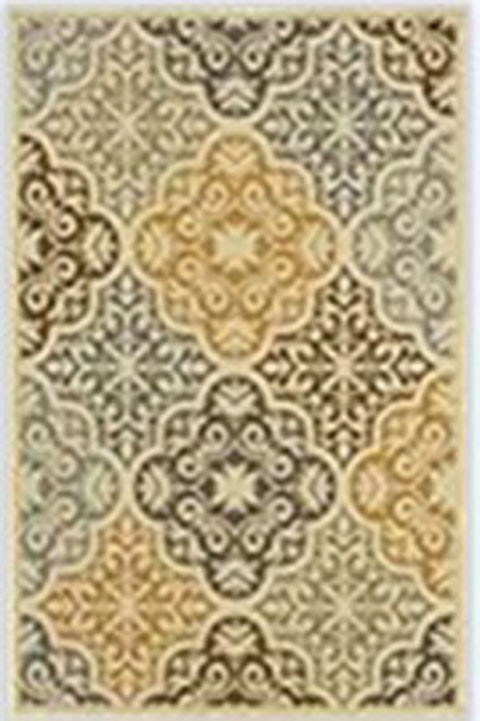Lacy - Brown/Gold - Large Rug