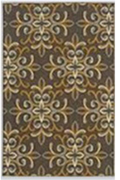 Savery - Brown/Gold - Large Rug