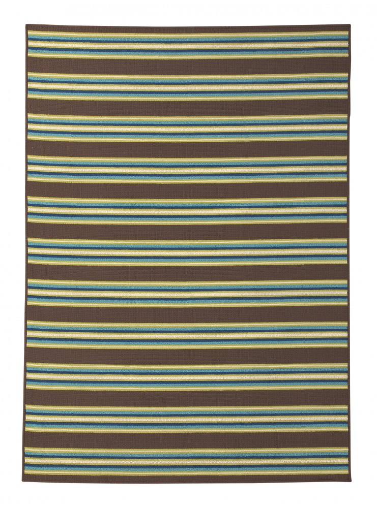 Matchy Lane - Brown/Blue/Green - Medium Rug